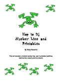 Hop to it! Number Line and Printables