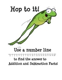 Number Lines for Basic Addition and Subtraction Facts