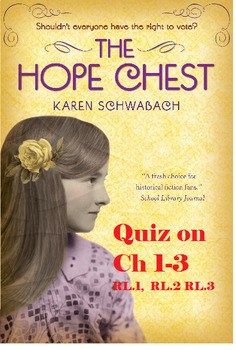 Hope Chest Quiz Chapters 1-3