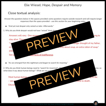 dawn elie wiesel pdf download