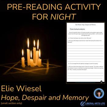 Elie Wiesel: Hope, Despair and Memory - What is Textual Analysis?