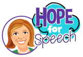 Hope For Speech Logo
