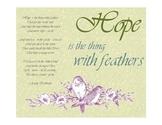 Hope Poem by Emily Dickinson Spring Free Printable