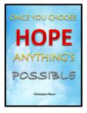 Hope Poster-Sky Background