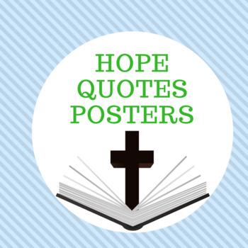 Hope Verses Posters (8.5 x 11)