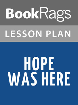 Hope Was Here Lesson Plans