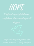 Hope and Grace Posters