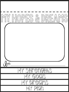 Hopes & Dreams / Goal Garden Bulletin Board