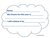 Hopes, Dreams, and Achieve! A small twist on the Hopes and Dream Cloud