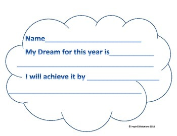 Hopes, Dreams, and Achieve! A small twist on the Hopes and