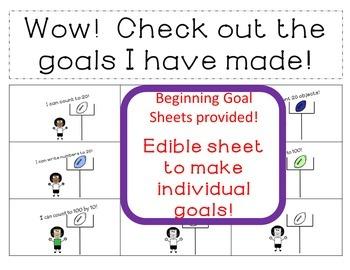 Goal Setting Football Theme