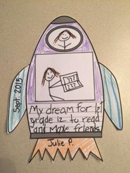 Hopes and Dreams 2 - Rocket Ship and Moon
