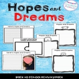 Hopes and Dreams Activities