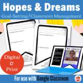 Hopes & Dreams Banners Classroom Management: GOOGLE Classr