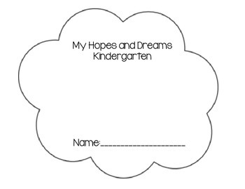 Hopes and Dreams Cloud - Kindergarten