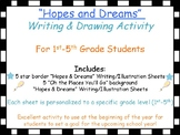 Hopes and Dreams Goal Setting Activity