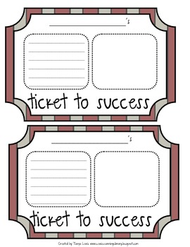 Hopes and Dreams - Hollywood Theme (Tickets to Success)
