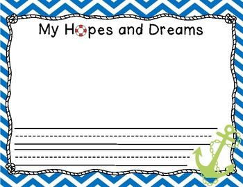 Hopes and Dreams (Nautical Edition)