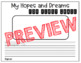 Hopes and Dreams Pennants Responsive Classroom Bulletin Board