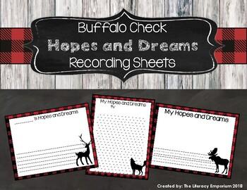 Hopes and Dreams Recording Sheets (Buffalo Check Edition)