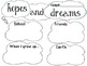 Hopes and Dreams Resource for Primary-FREEBIE