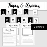 Hopes and Dreams- Responsive Classroom Goal Setting & Bulletin Board