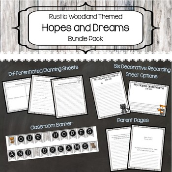 Hopes and Dreams (Rustic Woodland) Bundle