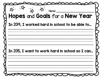 Hopes and Goal for a New Year 2015