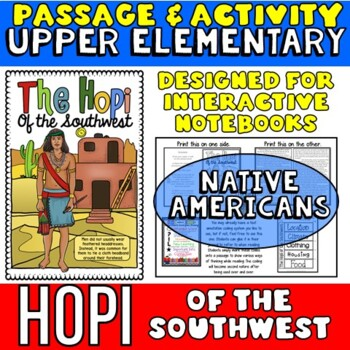 Native Americans: Hopi Passage with Activity