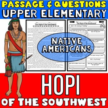Native Americans Activity: Hopi Passage with Questions