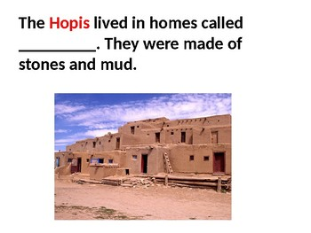Hopi tribe Flashcards