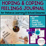 Hoping & Coping Feelings Journal - Distance Learning and S