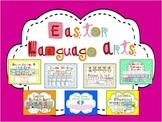 Hop'n Easter Language Arts Activities Pack