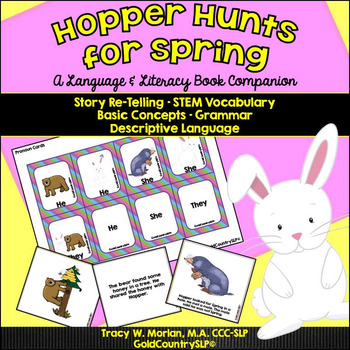 Hopper Hunts for Spring - A Language & Literacy Book Companion