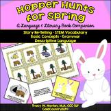 #TpTSLPEggHop Hopper Hunts for Spring-A Language/Literacy