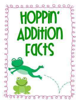 Hoppin' Addition Facts Review