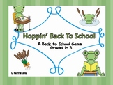 Hoppin Back To School Game Teaches Routines Build Community