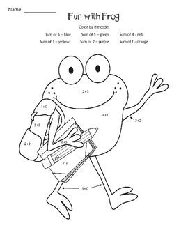 Hoppin' Back to School Printables
