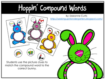Hoppin' Compound Words