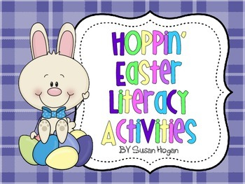Hoppin Easter Literacy Activities {Aligned to the Common Core}