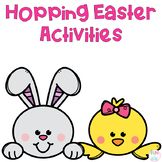 Hoppin' Easter Pre-K and Kindergarten Literacy and Math Ac