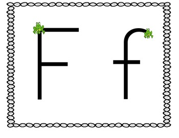 Fantastic Fun with Letter Ff