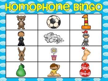 Hoppin Homophones