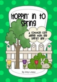 Hoppin' In To Spring Math and Literacy Unit