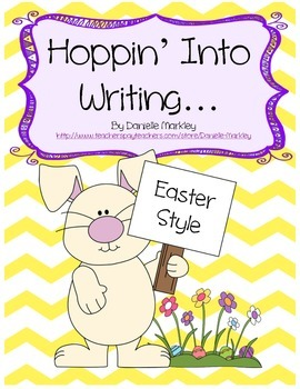 Hoppin' Into Writing... Easter Style