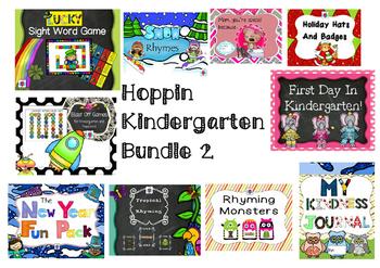 Hoppin Kindergarten Bundle 2