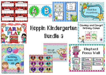 Hoppin Kindergarten Bundle 3