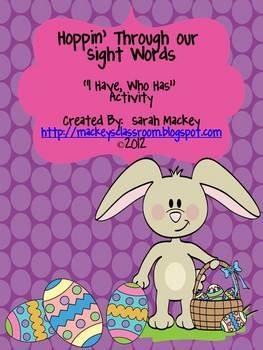 Hoppin' Through Sight Words