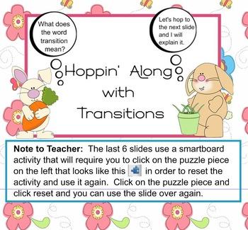 Hoppin' Through Transitions