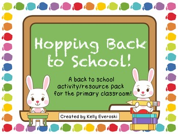 Hopping Back to School!